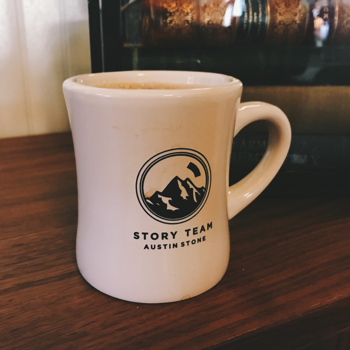 My Story Team coffee mug