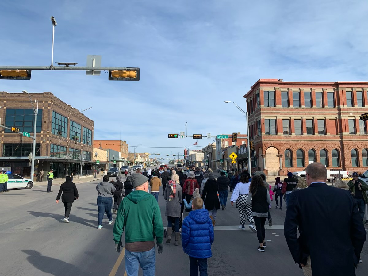 The Martin Luther King, Jr. March in Taylor, TX