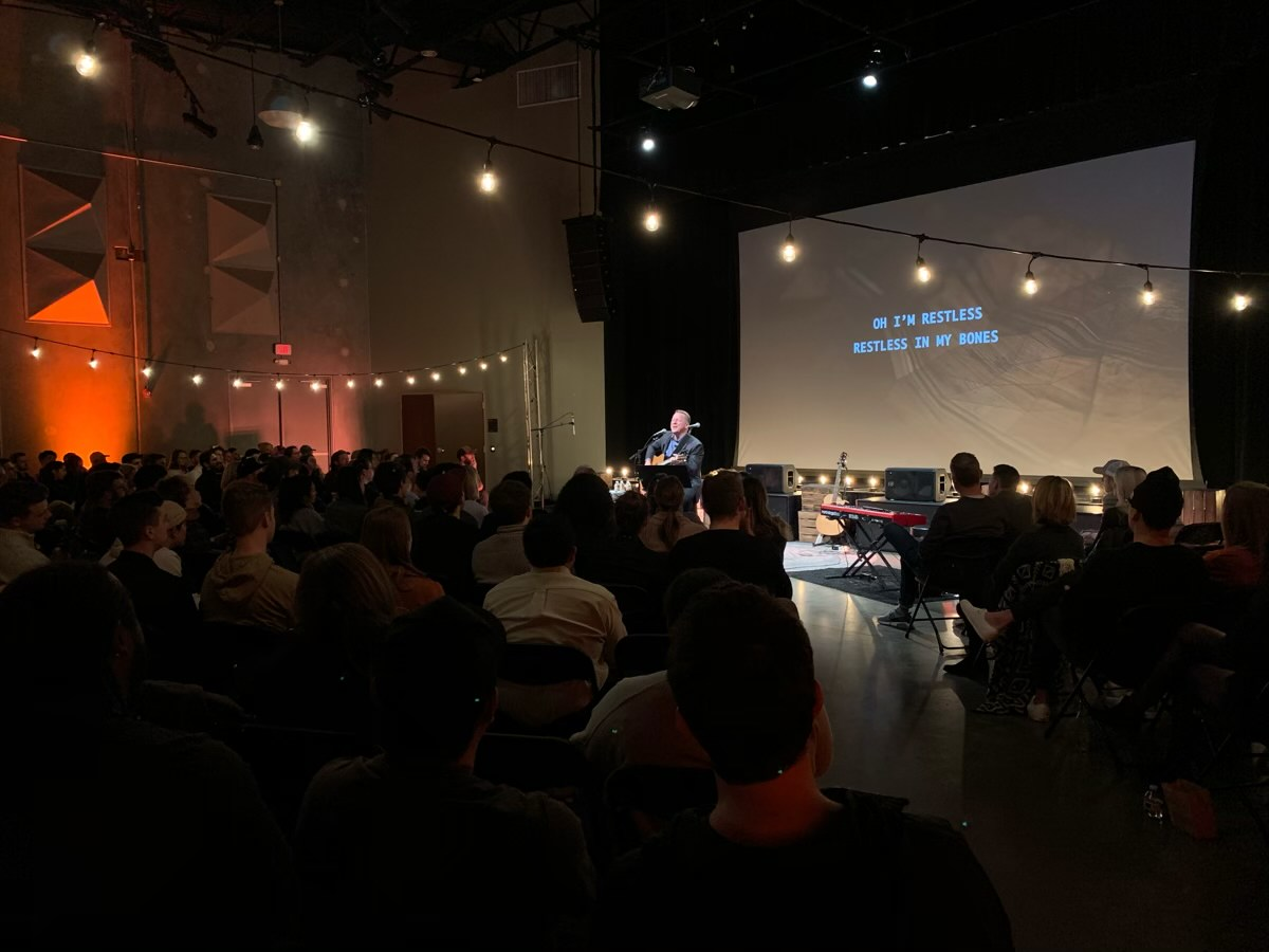 Cory Morrow at The Austin Stone Worship Collective