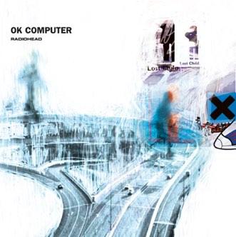 Radiohead's OK Computer album cover
