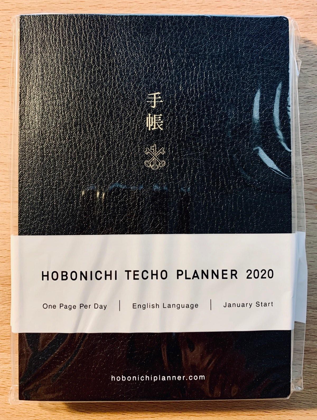 The Hobonichi Techo Planner 2020